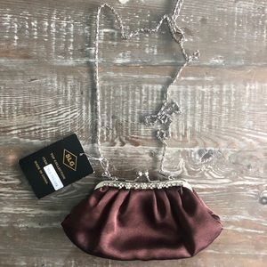 NWT satin small purse